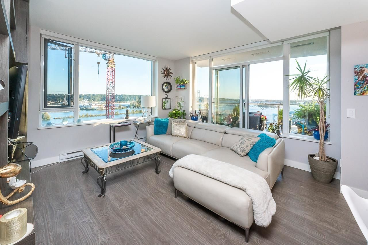 """Main Photo: 1911 668 COLUMBIA Street in New Westminster: Quay Condo for sale in """"Trapp + Holbrook"""" : MLS®# R2622258"""
