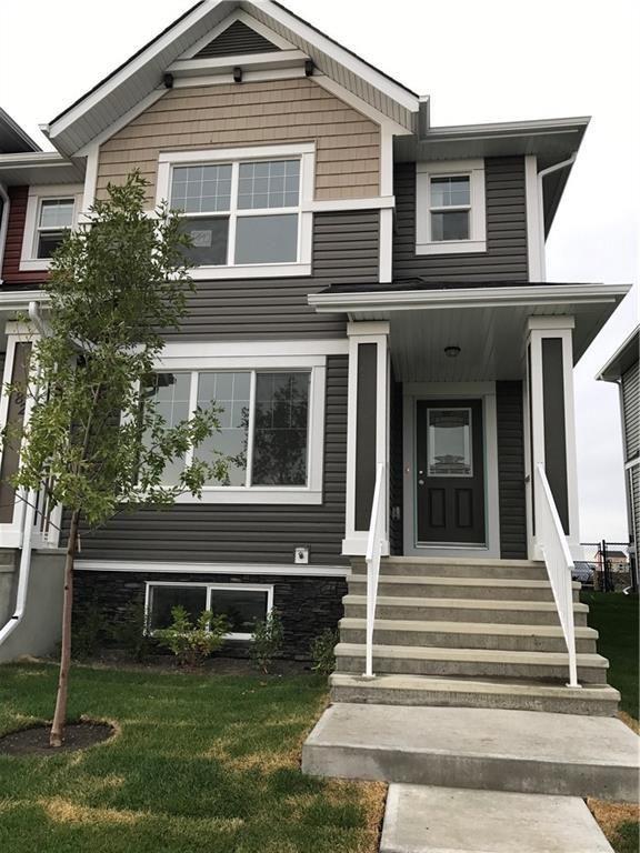 Main Photo: 280 FIRESIDE Drive: Cochrane Row/Townhouse for sale : MLS®# C4188836