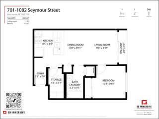 "Photo 23: 701 1082 SEYMOUR Street in Vancouver: Downtown VW Condo for sale in ""Freesia"" (Vancouver West)  : MLS®# R2575077"