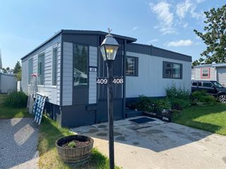 Main Photo: 408 3223 83 Street NW in Calgary: Greenwood/Greenbriar Mobile for sale : MLS®# A1128226