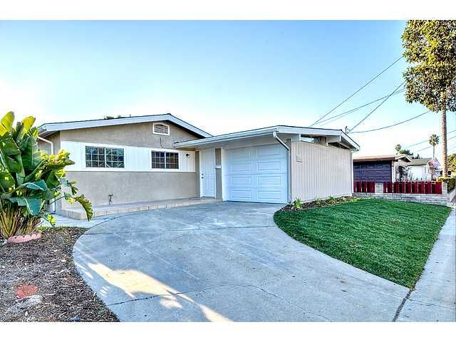 Main Photo: CLAIREMONT House for sale : 3 bedrooms : 3915 Mount Abraham Avenue in San Diego