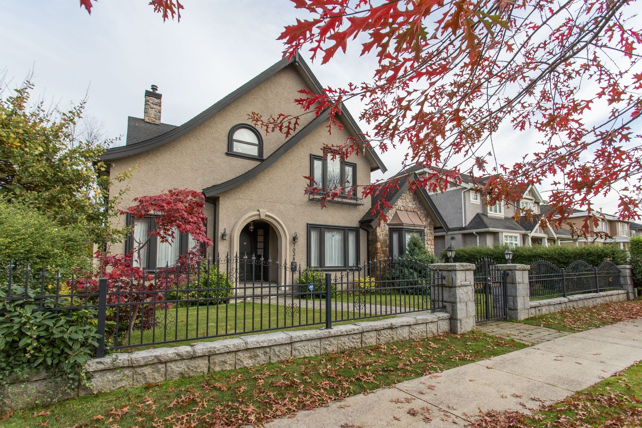 Stunning 6 bd home in South Granville, Vancouver.