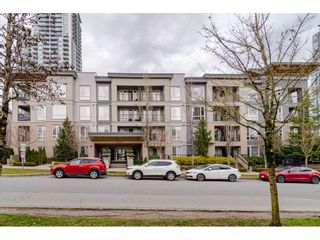 """Photo 2: 303 13339 102A Avenue in Surrey: Whalley Condo for sale in """"The Element"""" (North Surrey)  : MLS®# R2440975"""
