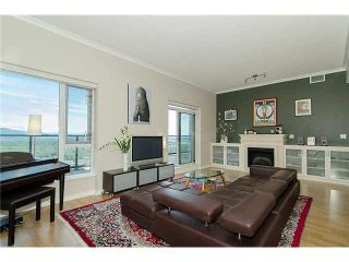 """Photo 4: 4001 1178 HEFFLEY Crescent in Coquitlam: North Coquitlam Condo for sale in """"THE OBELISK"""" : MLS®# V1116364"""