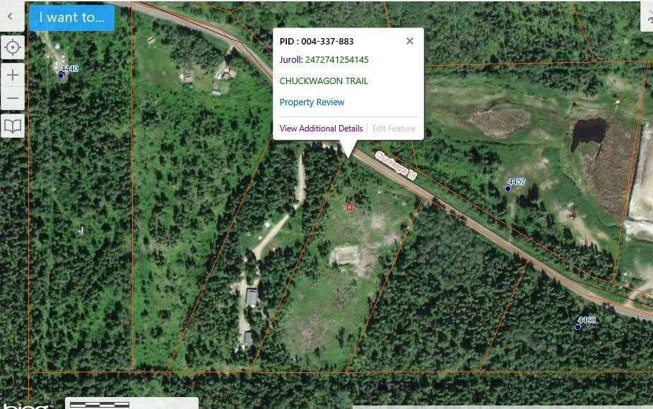 Main Photo: LOT F CHUCKWAGON Trail: Forest Grove Land for sale (100 Mile House (Zone 10))  : MLS®# R2546842