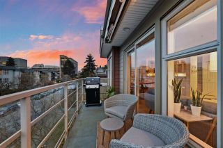 """Photo 11: 401 1586 W 11TH Avenue in Vancouver: Fairview VW Condo for sale in """"Torrey Pines"""" (Vancouver West)  : MLS®# R2561085"""