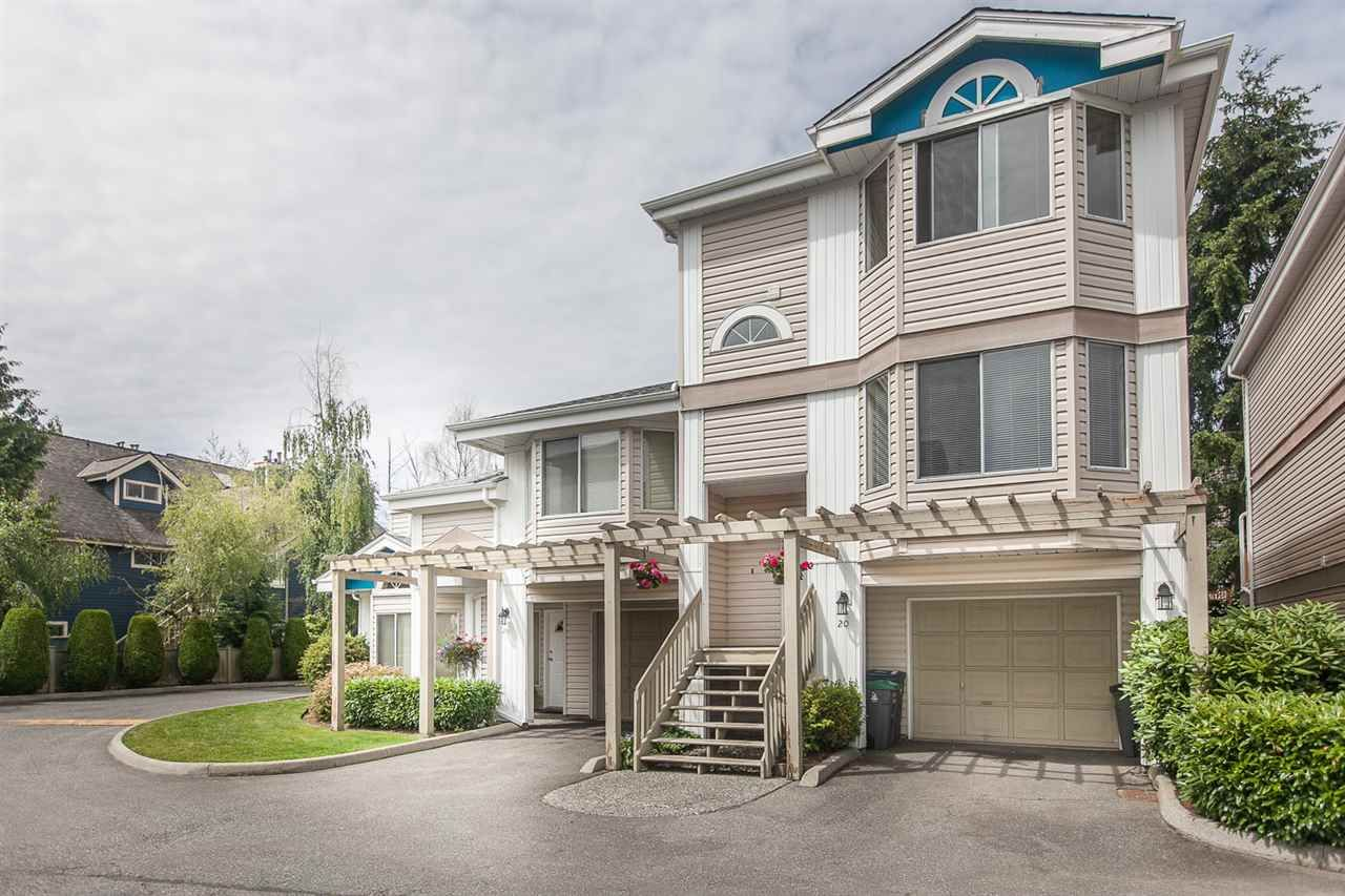 "Main Photo: 20 7875 122 Street in Surrey: West Newton Townhouse for sale in ""The Georgian"" : MLS®# R2083338"