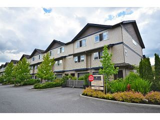 "Photo 1: 1 1268 RIVERSIDE Drive in Port Coquitlam: Riverwood Townhouse for sale in ""SOMERSTON LANE"" : MLS®# V1021881"