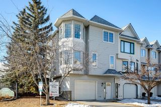 Main Photo: 91 Patina Rise SW in Calgary: Patterson Row/Townhouse for sale : MLS®# A1071867