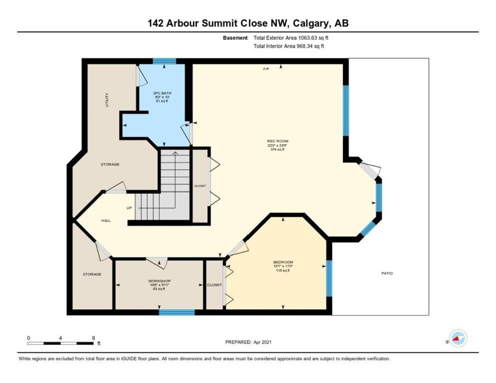 Photo 50: Photos: 142 Arbour Summit Close NW in Calgary: Arbour Lake Detached for sale : MLS®# A1102229