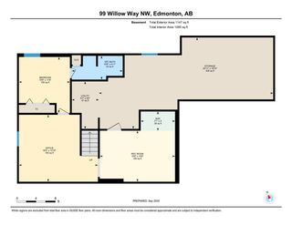 Photo 48: 99 Willow Way in Edmonton: Zone 22 House for sale : MLS®# E4229468