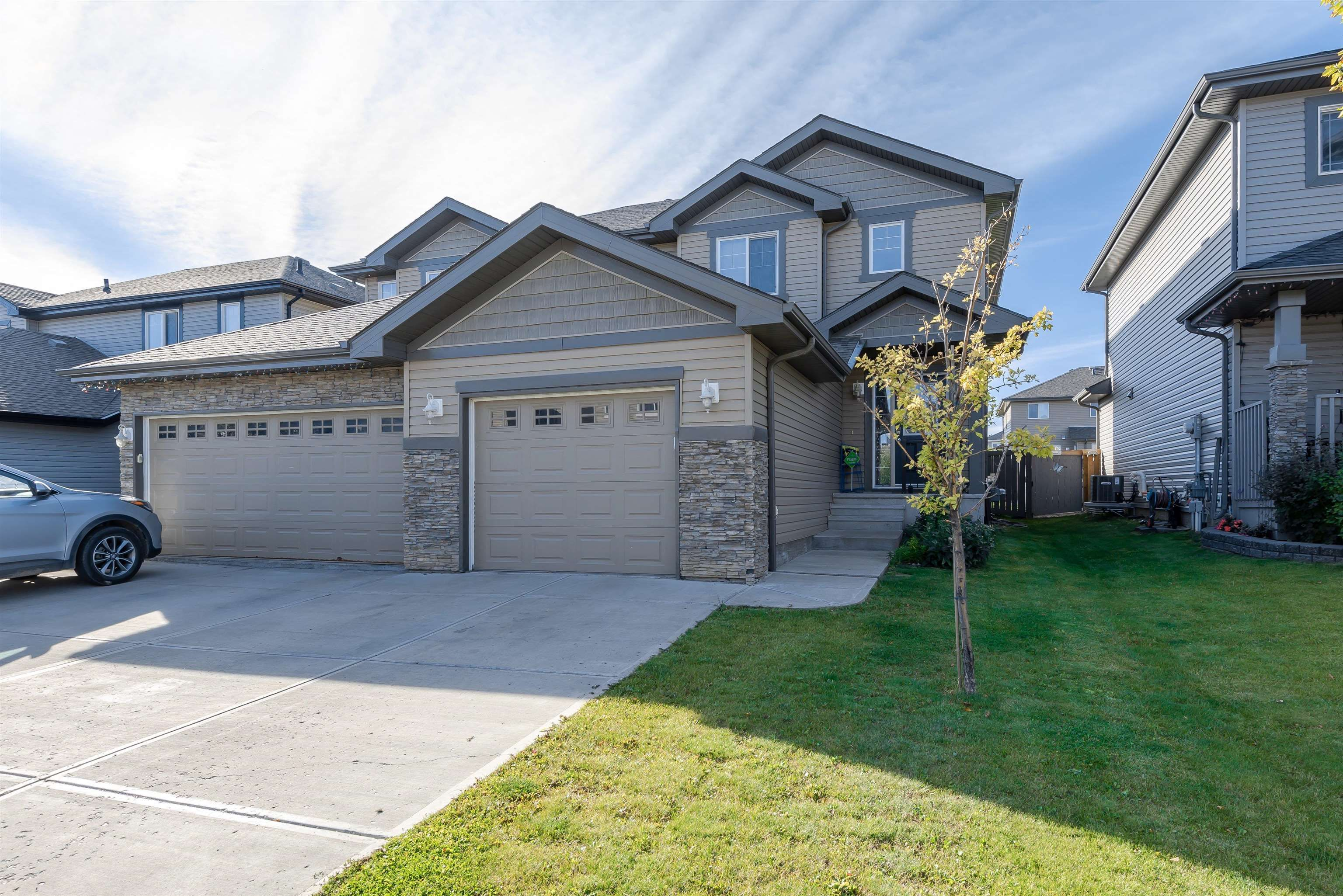 Main Photo: 2333 CASSELMAN Crescent in Edmonton: Zone 55 House Half Duplex for sale : MLS®# E4262948