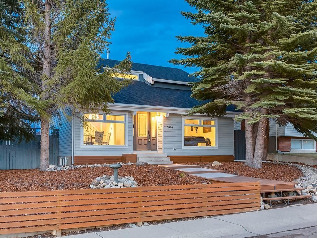 Main Photo: 7020 78 Street NW in Calgary: Silver Springs Detached for sale : MLS®# C4244091