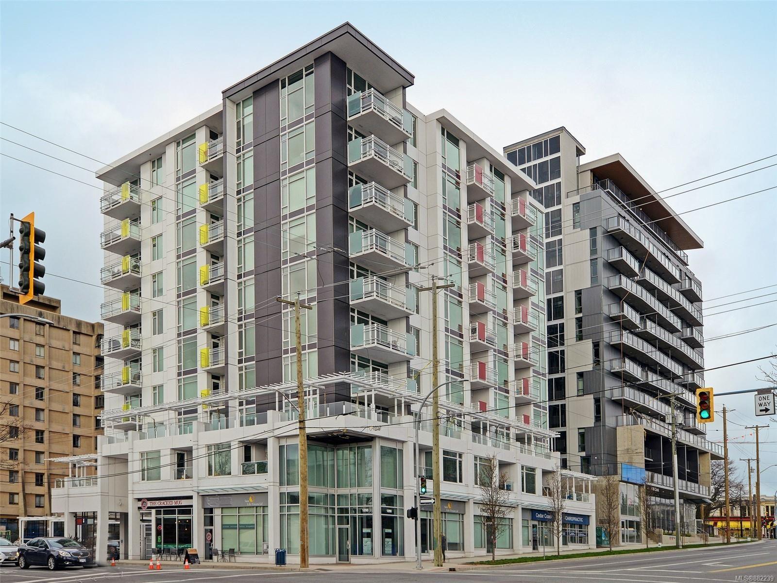 Main Photo: 801 1090 Johnson St in : Vi Downtown Condo for sale (Victoria)  : MLS®# 882239