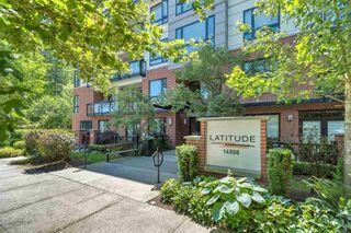 """Main Photo: 404 14358 60 Avenue in Surrey: Sullivan Station Condo for sale in """"LATTITUDE"""" : MLS®# R2595811"""