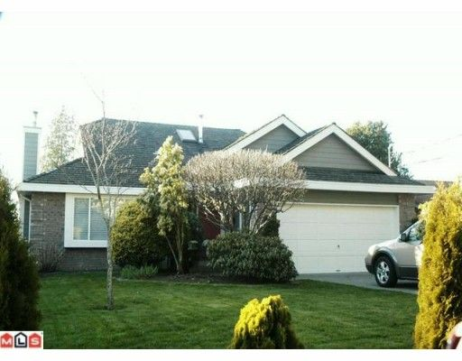 Main Photo: 1033 164TH Street in Surrey: King George Corridor House for sale (South Surrey White Rock)  : MLS®# F1004475