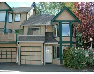 """Photo 1: 21 1251 LASALLE Place in Coquitlam: Canyon Springs Townhouse for sale in """"CHATEAU LASALLE"""" : MLS®# V653219"""