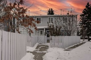 Photo 1: 33 AMBERLY Court in Edmonton: Zone 02 Townhouse for sale : MLS®# E4229833