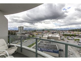 """Photo 17: 803 32330 S FRASER Way in Abbotsford: Abbotsford West Condo for sale in """"Town Centre Tower"""" : MLS®# R2163244"""