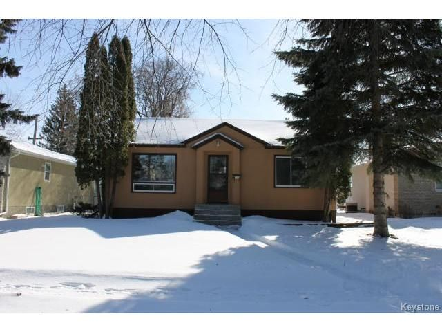 Main Photo: 164 Clare Avenue in WINNIPEG: Fort Rouge / Crescentwood / Riverview Residential for sale (South Winnipeg)  : MLS®# 1504105
