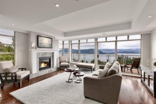 """Photo 1: 8609 SEASCAPE Place in West Vancouver: Howe Sound 1/2 Duplex for sale in """"Seascapes"""" : MLS®# R2528203"""