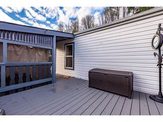 "Photo 35: 83 43201 LOUGHEED Highway in Mission: Dewdney Deroche Manufactured Home for sale in ""Nicomen Village"" : MLS®# R2529405"