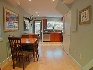 Photo 3: 10-1642 E. Georgia Street in Vancouver: Hastings Townhouse for sale (Vancouver East)  : MLS®# V799553