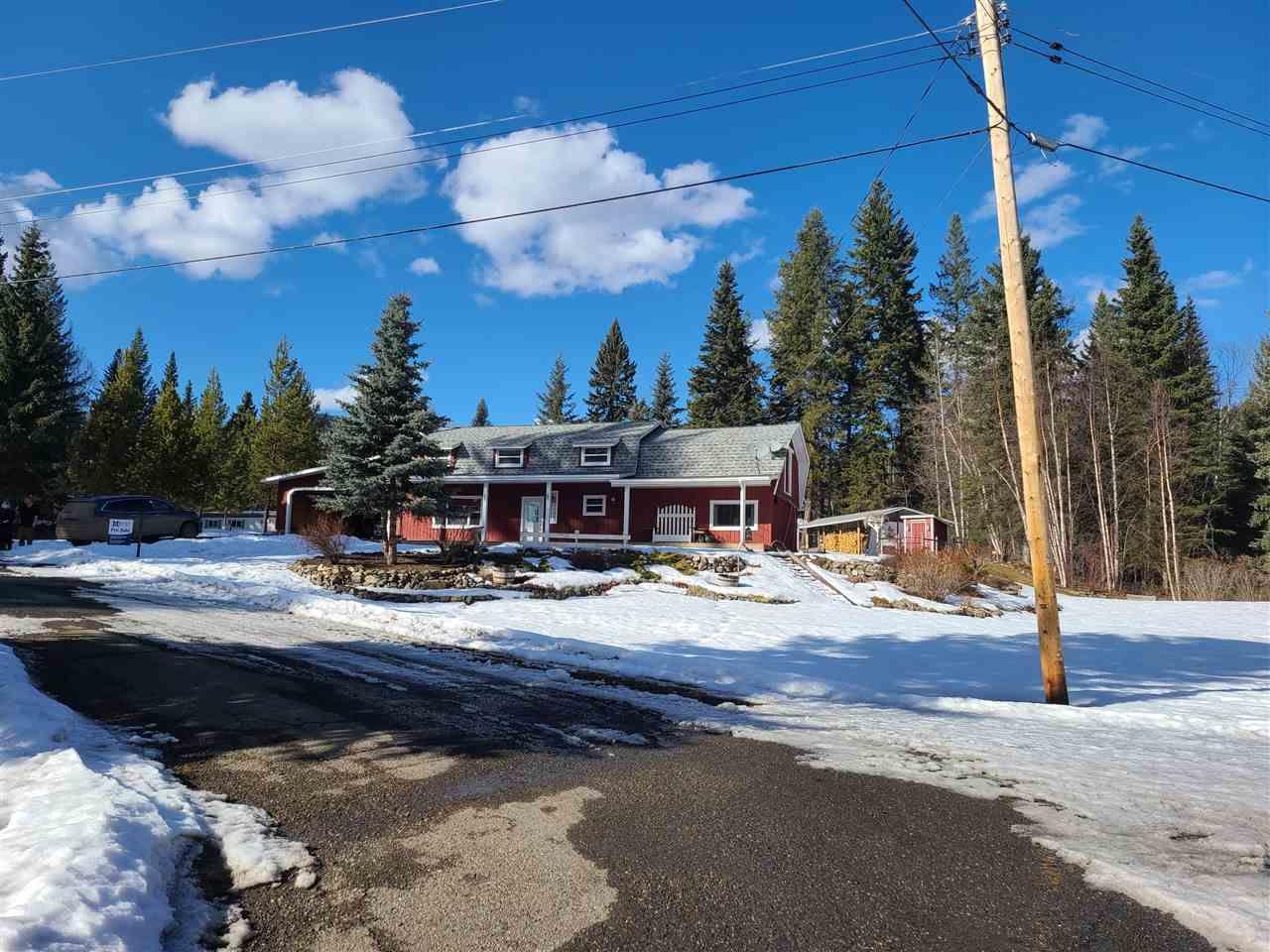 Main Photo: 7243 RAINBOW Crescent in Canim Lake: Canim/Mahood Lake House for sale (100 Mile House (Zone 10))  : MLS®# R2549546