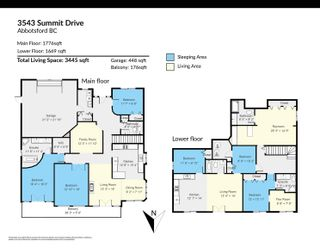 """Photo 2: 3543 SUMMIT Drive in Abbotsford: Abbotsford West House for sale in """"NORTH-WEST ABBOTSFORD"""" : MLS®# R2609252"""