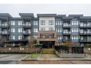 """Photo 1: 309 20078 FRASER Highway in Langley: Langley City Condo for sale in """"Varsity"""" : MLS®# R2533861"""