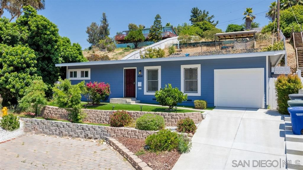 Main Photo: LA MESA House for sale : 2 bedrooms : 4291 Harbinson Ave