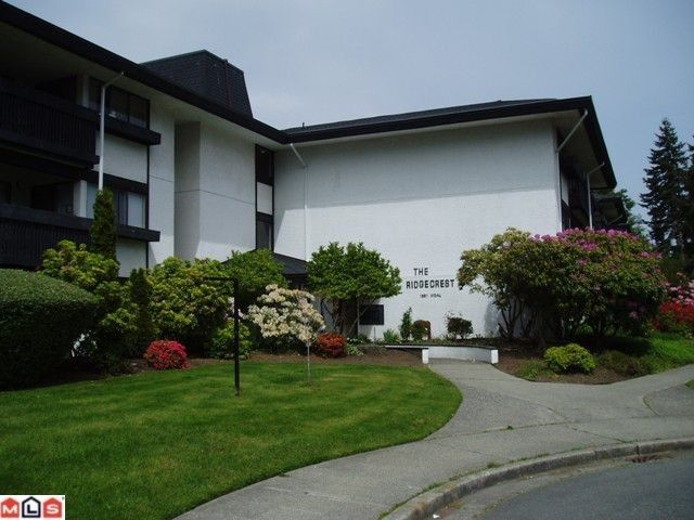 "Main Photo: 302 1561 VIDAL Street: White Rock Condo for sale in ""Ridgecrest"" (South Surrey White Rock)  : MLS®# F1118785"