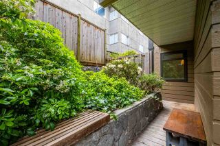 """Photo 24: 103 2100 W 3RD Avenue in Vancouver: Kitsilano Condo for sale in """"PANORAMA PLACE"""" (Vancouver West)  : MLS®# R2457956"""