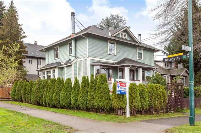 Main Photo: 4 W 11TH AVENUE in Vancouver: Mount Pleasant VW 1/2 Duplex for sale (Vancouver East)  : MLS®# R2045663