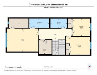 Photo 36: 116 Santana Crescent: Fort Saskatchewan House Half Duplex for sale : MLS®# E4265517
