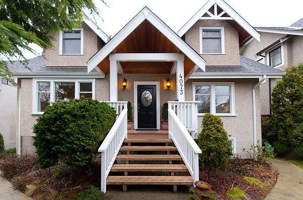 Photo 2: Photos: 4073 W 19TH Avenue in Vancouver: Dunbar House for sale (Vancouver West)  : MLS®# V995201