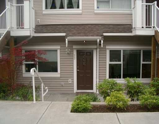 "Main Photo: 730 FARROW Street in Coquitlam: Coquitlam West Townhouse for sale in ""FARROW RIDGE"" : MLS®# V600458"