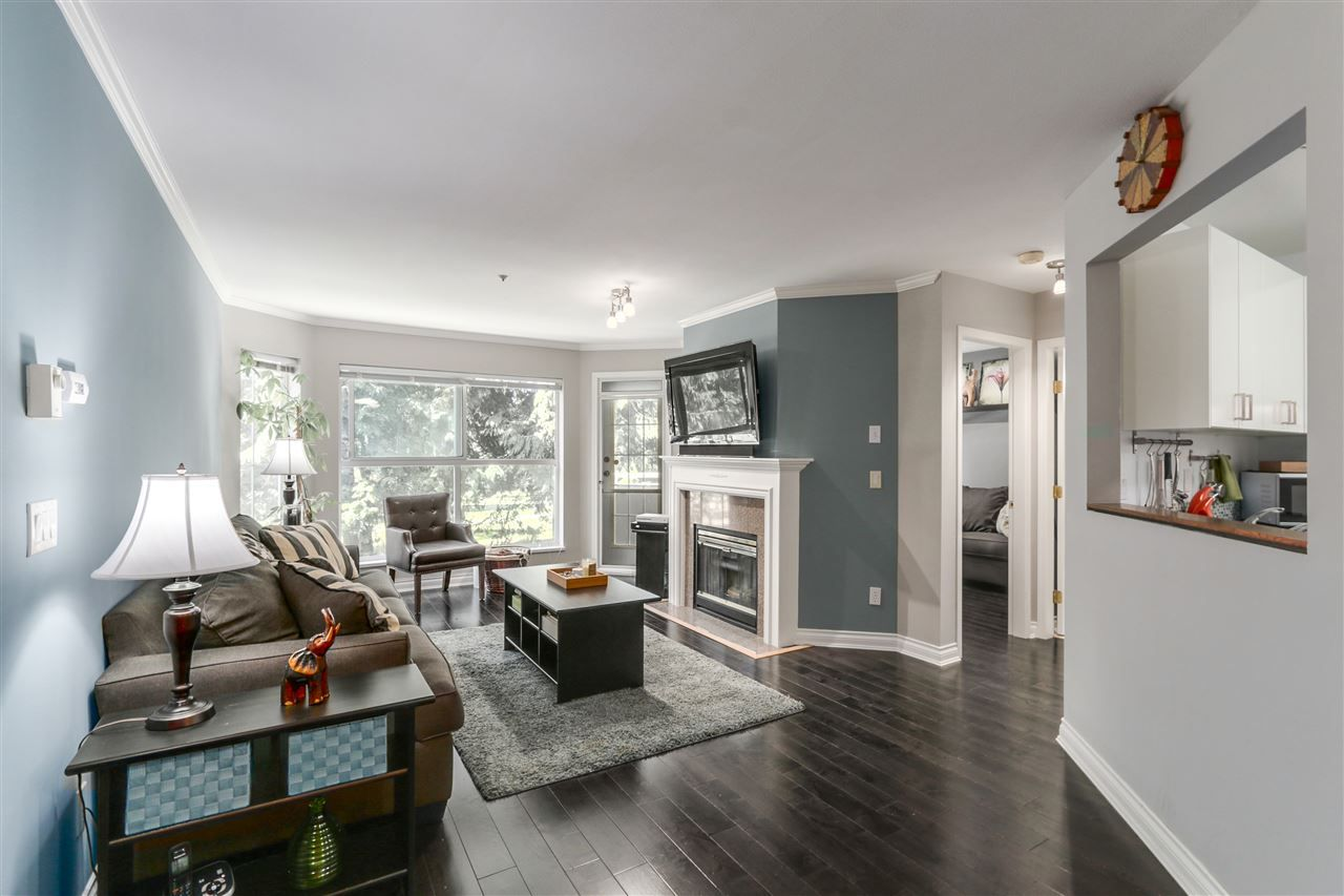 "Main Photo: 211 7435 121A Street in Surrey: West Newton Condo for sale in ""STRAWBERRY HILLS ESTATES II"" : MLS®# R2111544"