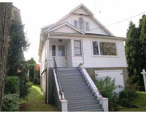 Main Photo: 378 E 34TH AV in Vancouver: Main House for sale (Vancouver East)  : MLS®# V562609