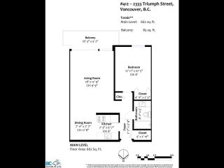 """Photo 21: 412 2333 TRIUMPH Street in Vancouver: Hastings Condo for sale in """"LANDMARK MONTEREY"""" (Vancouver East)  : MLS®# R2582065"""