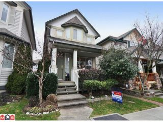 "Photo 1: 6657 185TH Street in Surrey: Cloverdale BC House for sale in ""CLOVER VALLEY STATION"" (Cloverdale)  : MLS®# F1026362"
