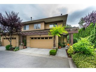 "Photo 1: 20 16655 64 Avenue in Surrey: Cloverdale BC Townhouse for sale in ""Ridgewoods"" (Cloverdale)  : MLS®# R2086382"