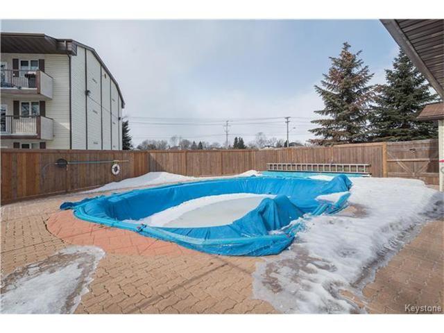 Photo 20: Photos: 1048 Bairdmore Boulevard in Winnipeg: Richmond West Condominium for sale (1S)  : MLS®# 1704936