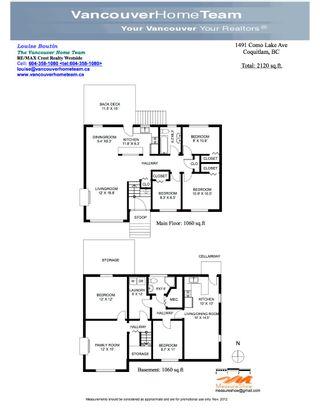 Photo 11: 1491 COMO LAKE AV in Coquitlam: Harbour Place House for sale : MLS®# V979371
