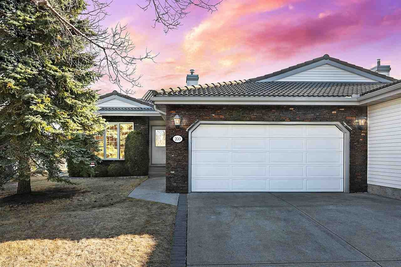 Main Photo: 200 COUNTRY CLUB Point in Edmonton: Zone 22 Attached Home for sale : MLS®# E4236589