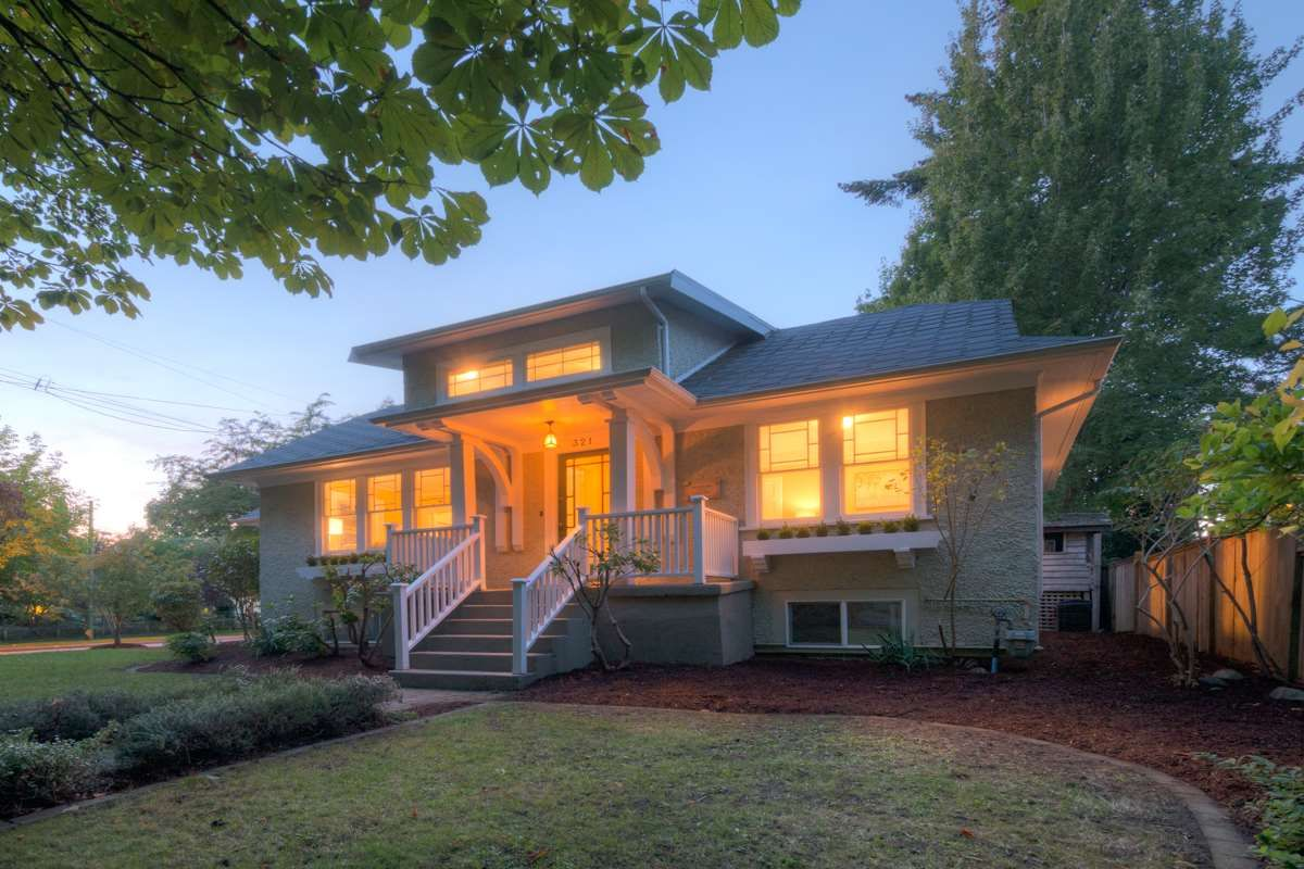 """Main Photo: 321 FIFTH Avenue in New Westminster: Queens Park House for sale in """"QUEENS PARK"""" : MLS®# R2112175"""