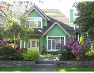 Photo 1: 3468 W 30TH Avenue in Vancouver: Dunbar House for sale (Vancouver West)  : MLS®# V769057