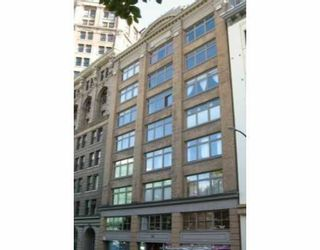 """Photo 1: 518 BEATTY Street in Vancouver: Downtown VW Condo for sale in """"STUDIO 518 BEATTY"""" (Vancouver West)  : MLS®# V634841"""