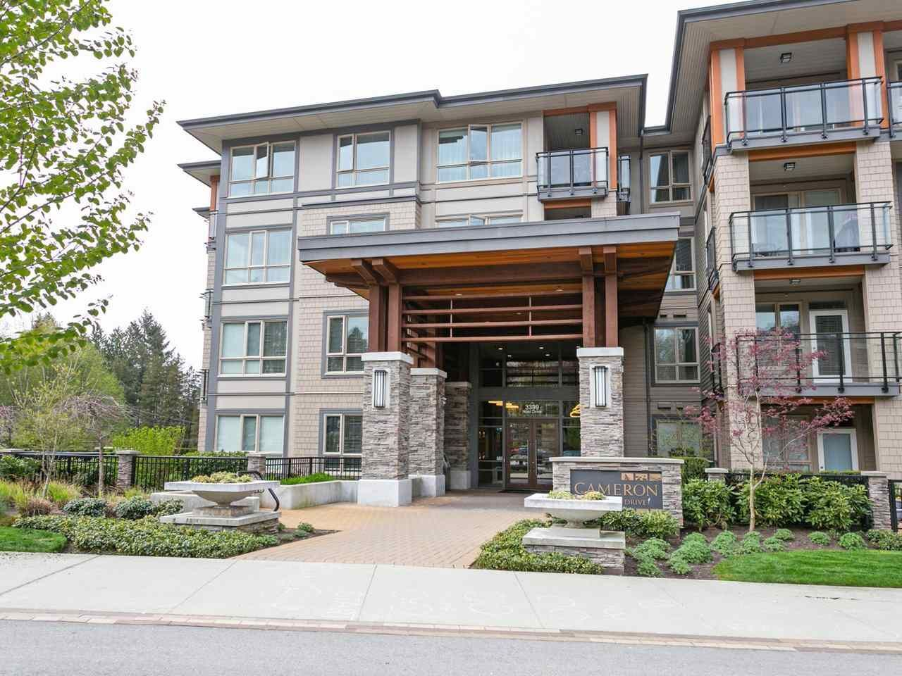 """Main Photo: 211 3399 NOEL Drive in Burnaby: Sullivan Heights Condo for sale in """"CAMERON"""" (Burnaby North)  : MLS®# R2465888"""