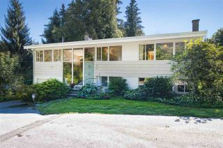 Photo 1: 730 ANDERSON Crescent in West Vancouver: Sentinel Hill House for sale : MLS®# R2110638